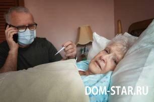 у пожилой женщины орви